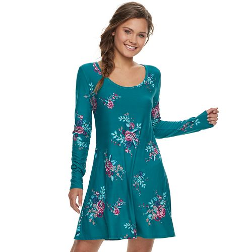 Juniors' Mudd® Floral Dress