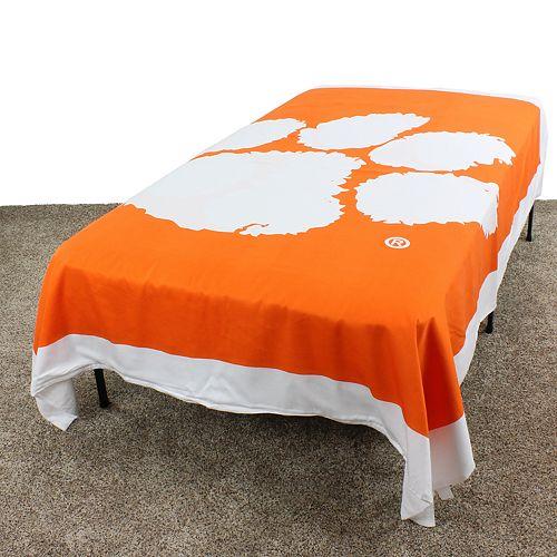 Clemson Tigers Twin-Size Duvet Cover