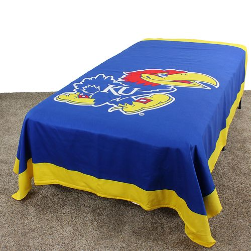 Kansas Jayhawks Twin-Size Duvet Cover