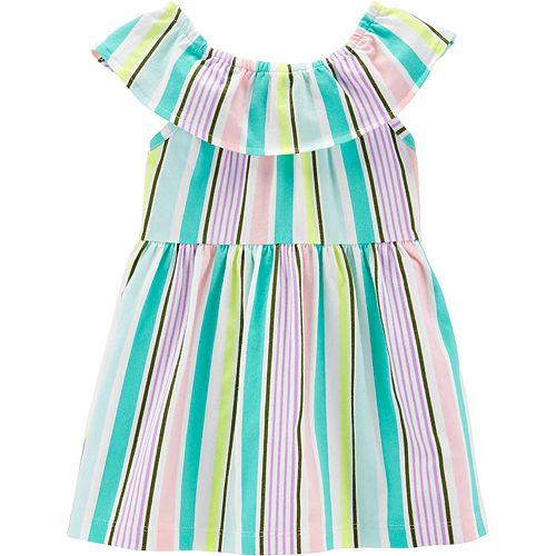6e9abe10013b Baby Girl Carter's Striped Dress