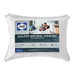 Sealy Elite Quilted Natural Comfort 2-pack Jumbo Feather Pillow