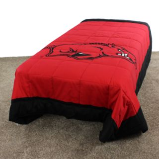 Arkansas Razorbacks Twin-Size Light Comforter
