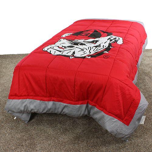 Georgia Bulldogs Twin-Size Light Comforter