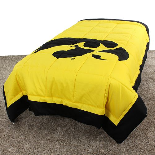 Iowa Hawkeyes Twin-Size Light Comforter
