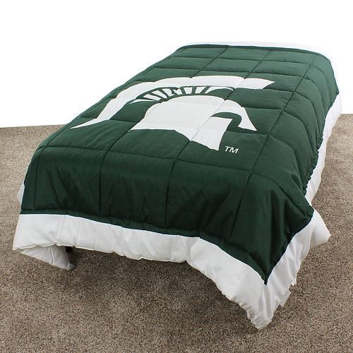 Michigan State Spartans Twin-Size Light Comforter