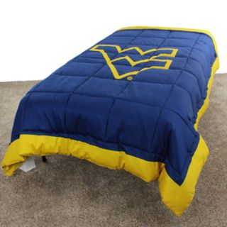 West Virginia Mountaineers Twin-Size Light Comforter