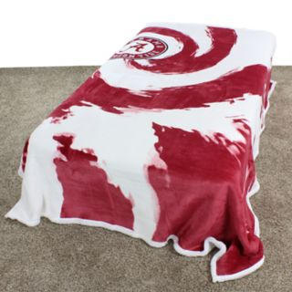 Alabama Crimson Tide Sherpa Throw Blanket