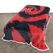 Nebraska Cornhuskers Sherpa Throw Blanket