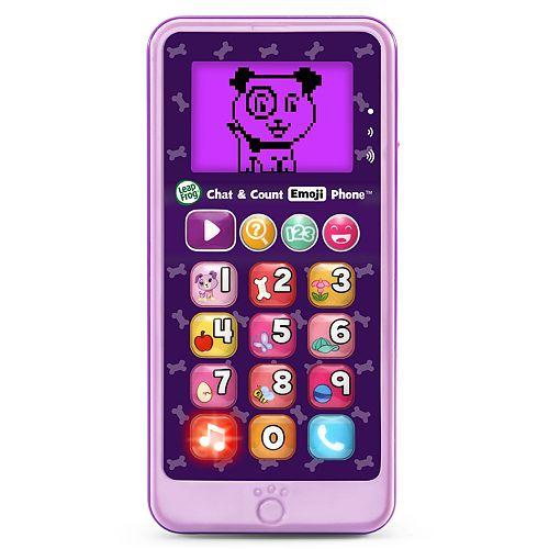 LeapFrog Violet Chat & Count Emoji Phone