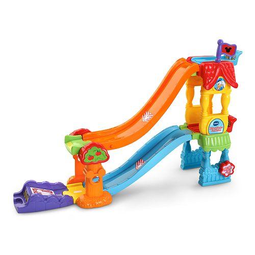 Disney's Mickey Mouse Vtech Go! Go! Smart Wheels Mickey Ramps Fun House