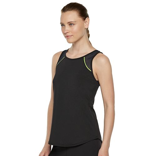 Women's FILA SPORT® Back Pleat Tank