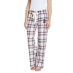 Women's Boston Red Sox Bid Flannel Pant