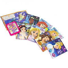Disney Princess Me Reader 8-Book Library by PI Kids