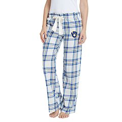 Women's Milwaukee Brewers Bid Flannel Pant