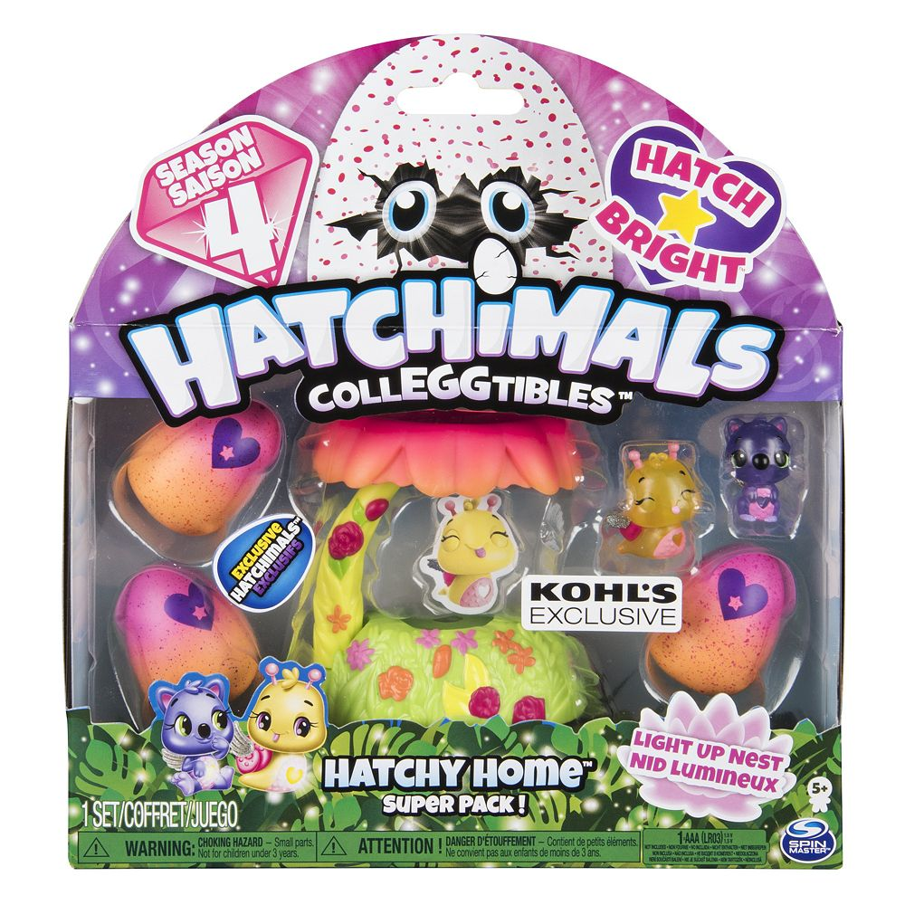 Hatchimal Colleggtible Playset