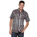 Men's Vans Facedown Button-Down Shirt