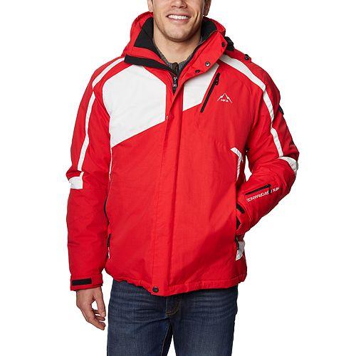 Men's Halitech Colorblock Hooded Jacket