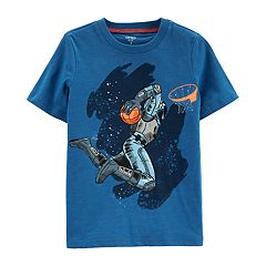Boys 4-14 Carter's Astronaut Space Dunk Graphic Tee