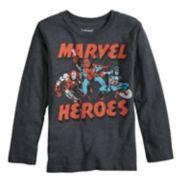 Boys 4-12 Jumping Beans® Marvel Iron Man, Spider-Man & Captain America Graphic Tee