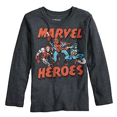 Boys 4-12 Jumping Beans® Marvel Iron Man, Spider-Man & Captain America Graphic Tee