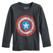 Boys 4-12 Jumping Beans® Marvel Captain America Shield Graphic Tee