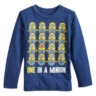 "Boys 4-12 Jumping Beans® Minions ""One In A Minion"" Graphic Tee"