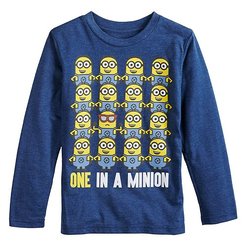 """Boys 4-12 Jumping Beans® Minions """"One In A Minion"""" Graphic Tee"""