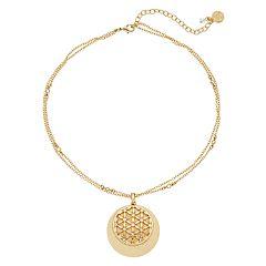 Dana Buchman Multi Disc Pendant Necklace