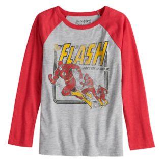 "Boys 4-12 Jumping Beans® ""The Flash"" Raglan Graphic Tee"