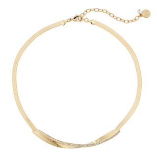 Dana Buchman Twist Bar Collar Necklace