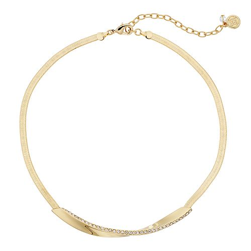 Dana Buchman Twist Bar Collar Necklace