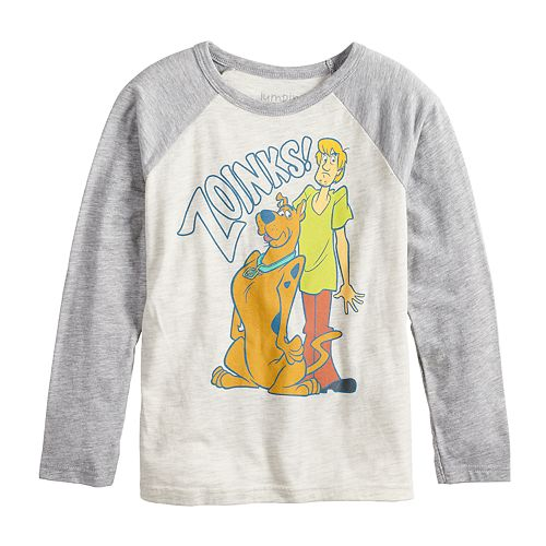 "Boys 4-12 Jumping Beans® Retro Scooby-Doo ""Zoinks!"" Raglan Graphic Tee"