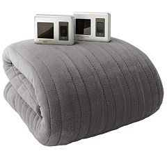 Biddeford Plush Heated Electric Blanket