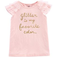 Girls 4-12 Carter's 'Glitter Is My Favorite Color' Tee