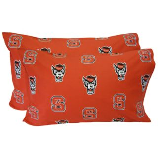 North Carolina State Wolfpack King-Size Pillowcase Set