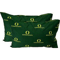 Oregon Ducks King-Size Pillowcase Set