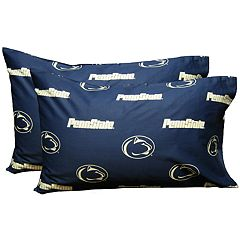 Penn State Nittany Lions King-Size Pillowcase Set