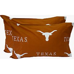 Texas Longhorns King-Size Pillowcase Set