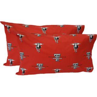 Texas Tech Red Raiders King-Size Pillowcase Set