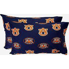 Auburn Tigers King-Size Pillowcase Set