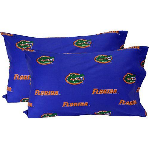 Florida Gators King-Size Pillowcase Set