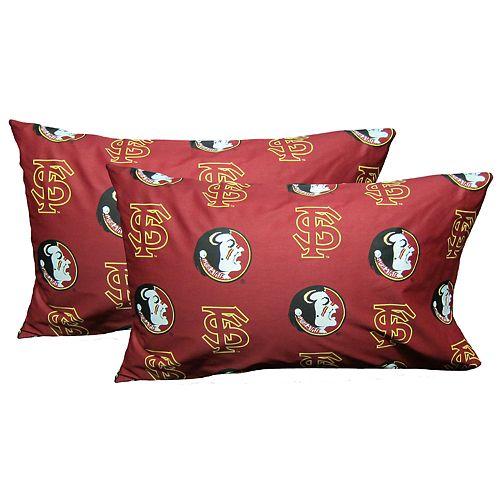 Florida State Seminoles King-Size Pillowcase Set