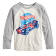 Boys 4-12 Jumping Beans® Retro Hot Wheels Raglan Graphic Tee