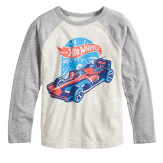 Boys 4-12 Jumping Beans® Retro Hot Wheels Raglan Graphic Tee