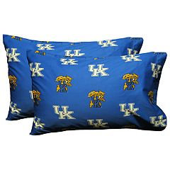 Kentucky Wildcats King-Size Pillowcase Set