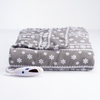 Biddeford Heated Extra Long Microplush Electric Throw