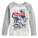 Boys 4-12 Jumping Beans® Jurassic World Raglan Graphic Tee