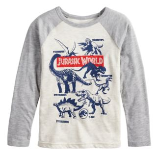 Boys 4-12 Jumping Beans® Jurassic World Raglan Graphic Tee