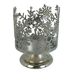 SONOMA Goods for Life™ Snowflake Large Candle Jar Holder