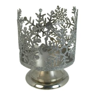 SONOMA Goods for Life? Snowflake Large Candle Jar Holder